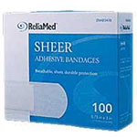 General Adhesive Bandages (100 bandages)